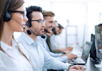 Fone de ouvido para call center