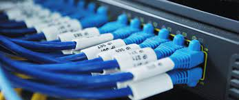 Serviço de cabos de rede