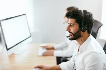 Serviço de call center home office