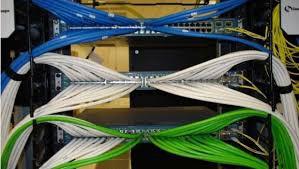 Serviços de cabeamento de rede